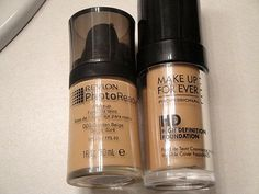 Makeup Forever HD Foundation Dupe?