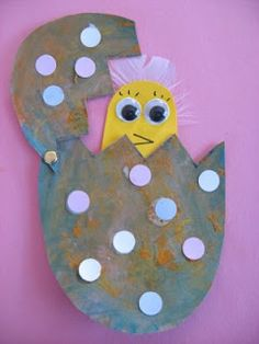 Egg & Chick Sent In By You - Re Made By Us ! - No Time For Flash Cards