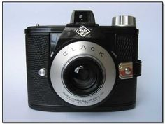 Agfa Clack - use 120 film, very nice for lomography.