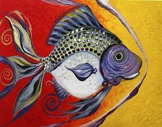 J. Vincent Scarpace, Artist. Original Abstract Art / Paintings / Murals for sale or via commission.  Visit: www.ipaintfish.com  View thousands more, here: www.facebook.com/scarpace (Fb friendship requests welcome).