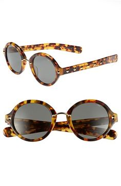 Rebecca Minkoff 'Grand' Sunglasses Blonde Tortoise