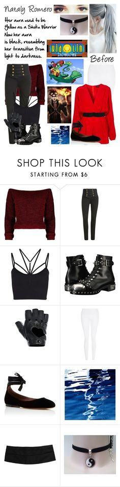 """Xiaolin Showdown OC"" by nebulaprime ❤ liked on Polyvore featuring beauty, Arden B., Sweaty Betty, Alexander McQueen, FRACOMINA, New Look, Tabitha Simmons, Art Addiction and Hermès"