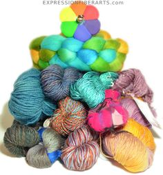 New! January 2014 Yarn Giveaway! from ExpressionFiberArts.com..... Enter it and may the best win... :)