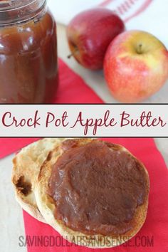 Crock Pot Apple Butter - Saving Dollars & Sense | Personal Finance Blog