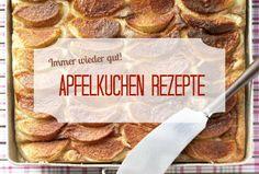 Apfelkuchen gehört definitiv zu den beliebtesten Kuchen. Gesunde Rezepte für den klassischen Kuchen findet ihr auf: http://eatsmarter.de/rezepte/backen/kuchen/apfelkuchen