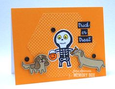 Halloween Sideshow – Who Let the Dogs Out?   by Jean Okimoto by the Memory Box Design Team