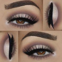 Eye Makeup Tips – How To Apply Eyeliner Maquillage Normal, Maquillage On Fleek, Skin Makeup, Eyeshadow Makeup, Eyeshadows, Eyeshadow Palette, Matte Eyeshadow, Fox Makeup, Witch Makeup
