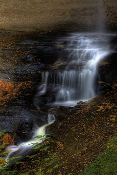Munising Falls, Pictured Rocks National Lakeshore, Michigan; photo by Carl TerHaar