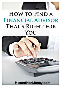 Personal finance can feel overwhelming and daunting sometimes. Unfortunately, many people take that overwhelming feeling and allow it to discourage them from making progress with their money. Financial advisors are available to assist you in mastering your money. However, all financial advisors are not equal. Some advisors assist with money saving techniques, and some for building wealth. Find out what you should know when choosing an advisor that's right for you!