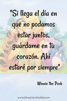 Frase de amistad de Winnie the PoohYou can find Frases bonitas and more on our website.Frase de amistad de Winnie the Pooh Spanish Inspirational Quotes, Spanish Quotes, Frases Disney, Image Maker, Disney Movie Quotes, Love Phrases, Motivational Phrases, Disney Love, Friendship Quotes
