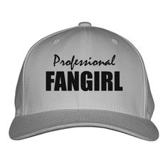 Professional Fangirl Embroidered Baseball Cap
