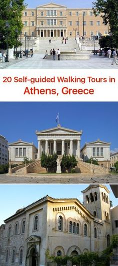 20 Self-guided Walking Tours in Athens, Greece
