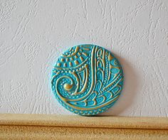 Polymer clay cabochon , handmade cabochon, Fimo cabochon ( 8. ) by Beabead on Etsy