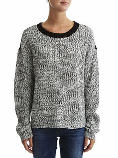 TENTA - KNIT - LONG SLEEVED TOP, Snow White, main