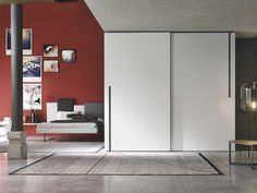White Matte Wardrobe | Bedroom Furniture UK | London | Glasgow | Edinburgh | Scotland | England