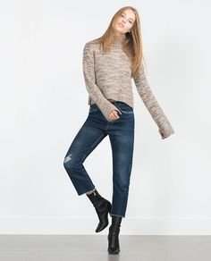 Image 1 of CROPPED SWEATER from Zara