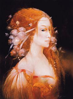 The Phantom of the Opera: Christine, illustration (2009) - Anne Bachelier