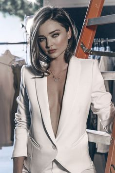 Miranda Kerr is back for a new campaign from Swarovski, this time for the brand's holiday 2015 campaign. The Australian model dazzles in white and sparkling gems for the advertisements and behind the scenes images featured below. Photographed by Margaret Zhang, Miranda wears a comfy mix of sweaters, blazers and skirts in the shoot. Related: …