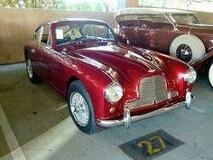 1956 Aston Martin DB 2/4 Mk I Coupe