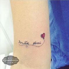 WEBSTA @ tatuagensfemininas - Homenagem / Tribute {Mom n' Dad} Enviada pela Seguidora: @Garronirayssa.ℐnspiração 〰 ℐnspiration ..#tattoo #tattoos #tatuagem #tatuaje #ink #tattooed #tattooedgirls #maeepai #TatuagensFemininas