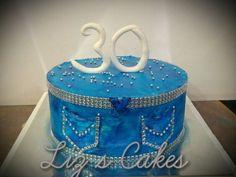 Super birthday cake for women blue bridal shower Ideas - Birthday Cake Blue Ideen Rustic Birthday Cake, Cowboy Birthday Cakes, 40th Birthday Themes, Themed Birthday Cakes, 60th Birthday Party, Birthday Ideas, Diamond Theme, Diamond Party, Birthday Presents For Men
