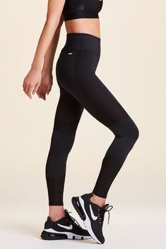 These tights will take you from morning workouts to meetings without missing a beat. Bra Size Charts, Workout Wear, Bra Sizes, Morning Workouts, Tights, Slim, Brittany, Model, How To Wear