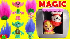 Trolls Lost and Found at Poppy's Coronation Party with Paw Patrol Magica...