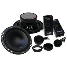 """CERWIN-VEGA MOBILE XED525C XED 5.25"""" 2-Way Component Speakers • 300W max • Curvilinear poly cone • Butyl rubber surround • Balanced metal dome CV tweeter • Mounting depth: 1.8"""" Brand: CERWIN-VEGA MOBI"""