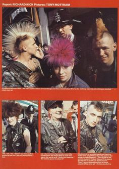 King's Road Punks '82 from Punk! Lives (#6)