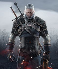 Geralt of Rivia, no introduction needed