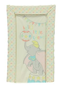 Unisex Dumbo Changing Mat - love love love this! - showed 'aunty' Lucy and I think she is considering buying for me