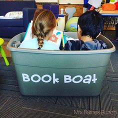 """221 Likes, 6 Comments - Mrs. Barnes Bunch (@mrsbarnesbunch) on Instagram: """"Two buddies in a boat with some books (book boats for @target of course ) #targetteachers"""""""