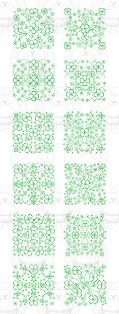 Shamrock patterns