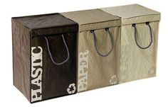 Recyclebags Recycling Bins, contemporary kitchen trash cans Recycling Station, Recycling Center, Recycling Bins, Recycling Ideas, Recycling Logo, Recycling Containers, Recycling Information, Kitchen Trash Cans, Dot And Bo