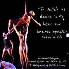 Hear our hearts speak. http://www.theballetblog.com/