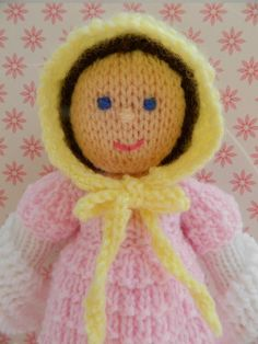 Looking for your next project? You're going to love Doll Knitting Pattern - A Georgian Doll by designer J.E. Marshall.