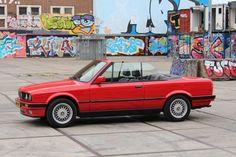 #BMW #E30 #Cabriolet #Convertible #Cabrio Bmw E30 Cabrio, Bmw E21, Bmw 318i, Bmw Cars, Bmw Vintage, Cabriolet, Car Posters, My Ride, Race Cars