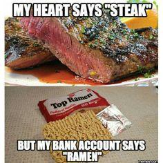 #steak #funny #lol #lmao #lmfao  #hilarious #laugh #laughing #tweegram #fun #friends #photooftheday #friend #wacky #crazy #silly #witty #instahappy #joke #jokes #joking #epic #instagood #instafun #funnypictures #haha #humor