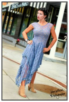 Fashion Photography by John Pellican, Photographer in Downtown Roanoke, VA; Clothing by Gypsypalooza, Hair and Make-up by Jessie Fugate. www.johnpellicanp...
