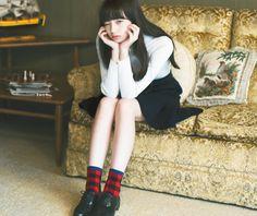 파핑파핑 바나나의 눈이 매력적인 일본여자모델 | 인스티즈