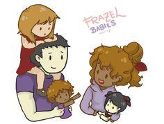 Chibi Marie, Frank, Sammy, Hazel and Emily :3