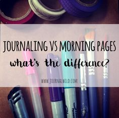 Ever wondered what the difference is between morning pages and regular…