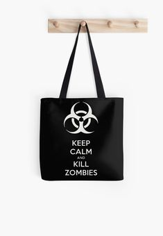 Keep Calm and Kill Zombies Black and White Samsung Galaxy Cases, Iphone Cases, Black And White Tote Bags, Zombies, Cool Shirts, Keep Calm, Cool Stuff, Stuff To Buy, Finding Yourself