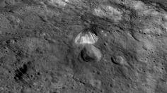 The 4-mile-tall pyramid mountain on dwarf planet Ceres is glowing - CNET