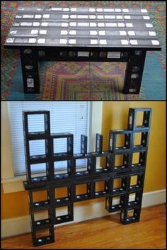 Reciclar fitas de vídeo vhs