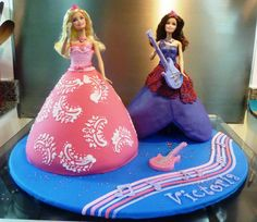 princess and the popstar cake | Flickr - Photo Sharing!