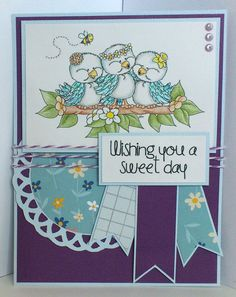 Scrappy Sweet Creations: Wishing You a Sweet Day