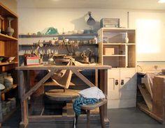 Kitty's Granada Studio: Lucie Rie's Studio