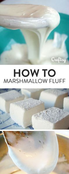 """Ever wondered, """"Can I make make marshmallow fluff from marshmallows?"""" The answer...Yes! This is a magic cooking trick that is sure to deliver delicious rewards. Read on to learn how to use marshmallows to make your own marshmallow fluff at home!"""