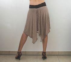 Jupe à pois pour danser le Tango Milonga par CrinolinAtelier